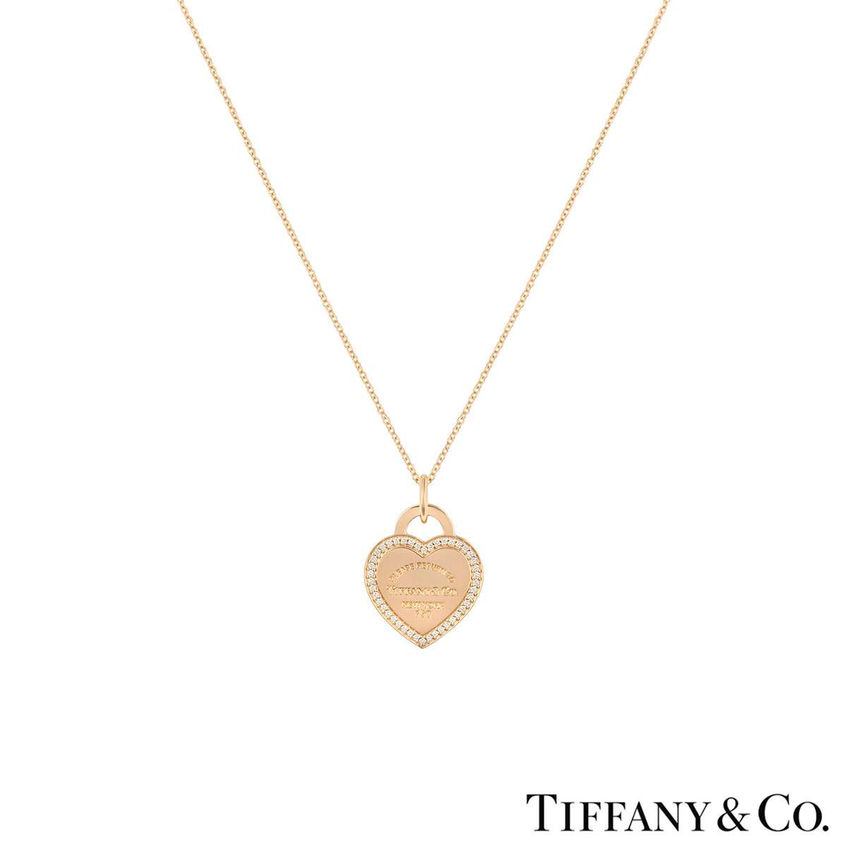 Tiffany & Co. Rose Gold Return to Tiffany Pendant